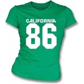California 86 (As worn by Damon of Blur) Womens Slimfit T-shirt