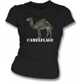 Camelflage Womens Slim Fit T-Shirt