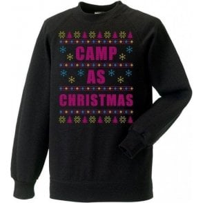 Camp As Christmas Jumper