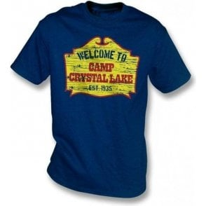 Camp Crystal Lake (Inspired by Friday the 13th) T-shirt