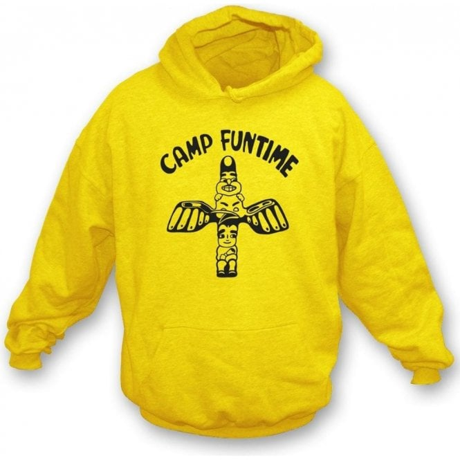 Camp Funtime Hooded Sweatshirt As Worn By Debbie Harry (Blondie)