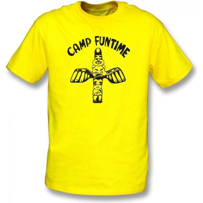 Camp Funtime Organic T-shirt As Worn By Debbie Harry (Blondie)