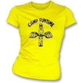 Camp Funtime Women's Slim Fit T-shirt As Worn By Debbie Harry (Blondie)