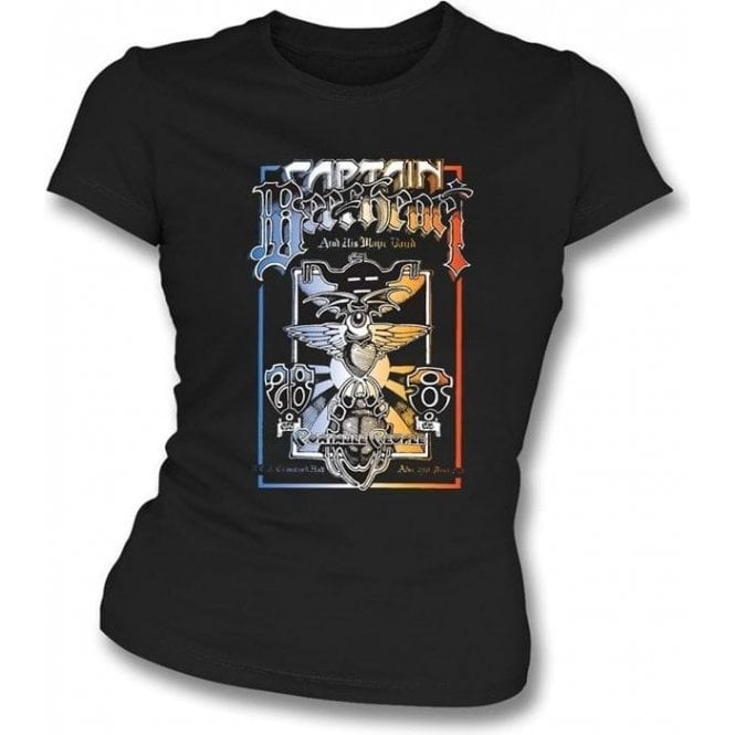 Captain Beefheart Portable People Womens Slim Fit T-Shirt