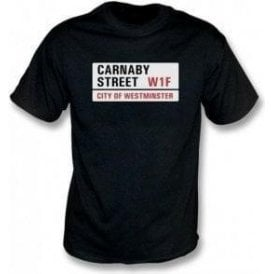 Carnaby Street Road Sign T-Shirt