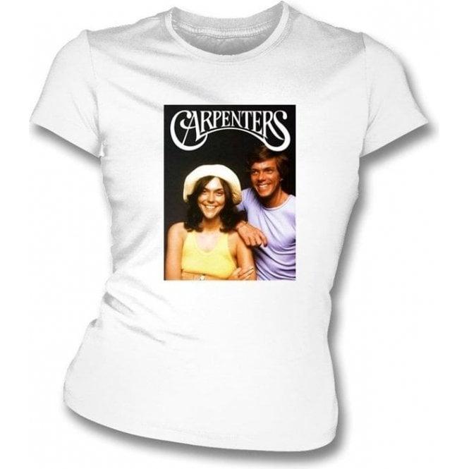 Carpenters 70's photo Womens Slimfit T-Shirt