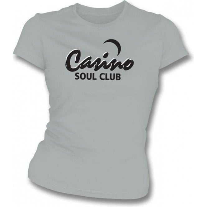 Casino Soul Club Womens Slim-Fit T-shirt