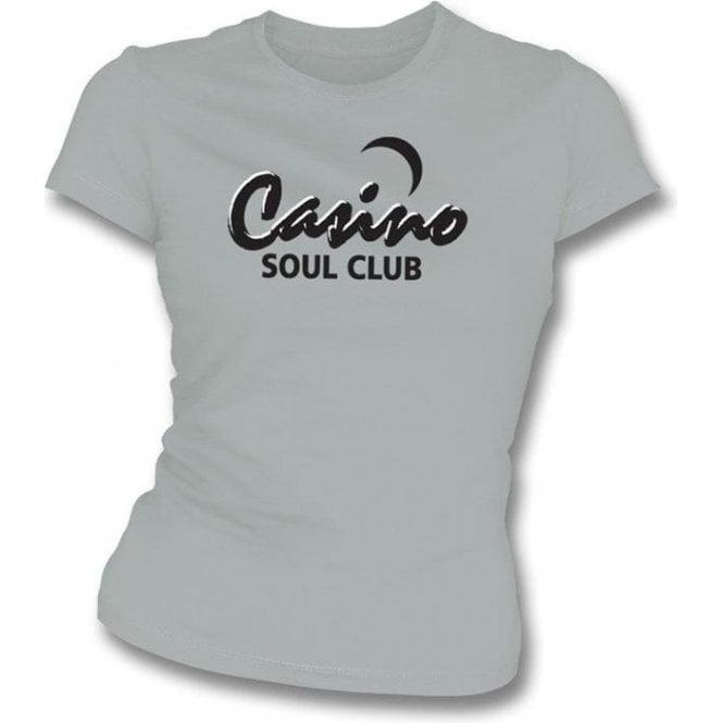 Casino Soul Club Womens Slim-Fit T-shirt