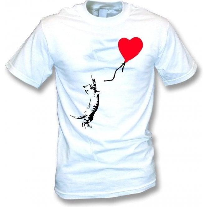Cat (Banksy Art) T-Shirt