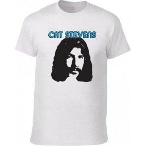 Cat Stevens 70's Face (As Worn By Albert Hammond Jnr., The Strokes) T-Shirt