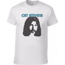Cat Stevens 70's Face (As Worn By Albert Hammond Jnr., The Strokes) Vintage Wash T-Shirt