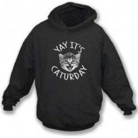 Caturday Kids Hooded Sweatshirt