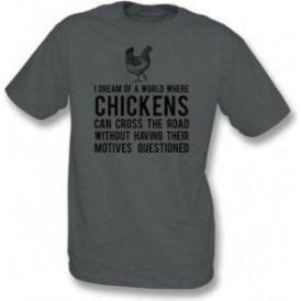 Chickens Cross The Road Kids T-Shirt