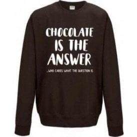 Chocolate Is The Answer Sweatshirt