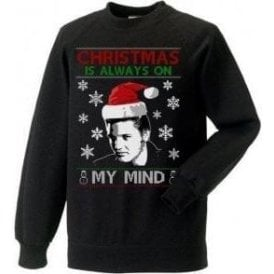 Christmas Is Always On My Mind (Inspired By Elvis Presley) Christmas Jumper