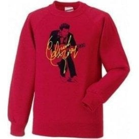 Chuck Berry Autograph Photo (As Worn By Marc Bolan, T. Rex) Sweatshirt