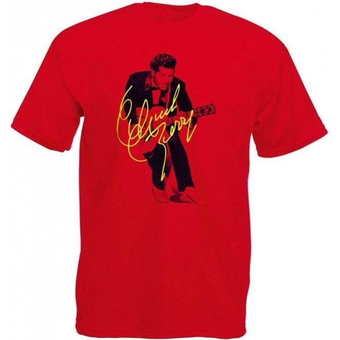 Chuck Berry Autograph Photo (As Worn By Marc Bolan, T. Rex) T-Shirt