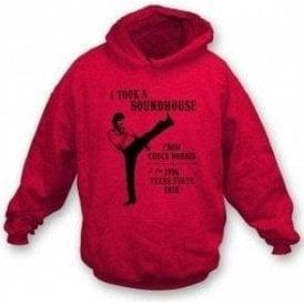 Chuck Norris Roundhouse Kick Hooded Sweatshirt