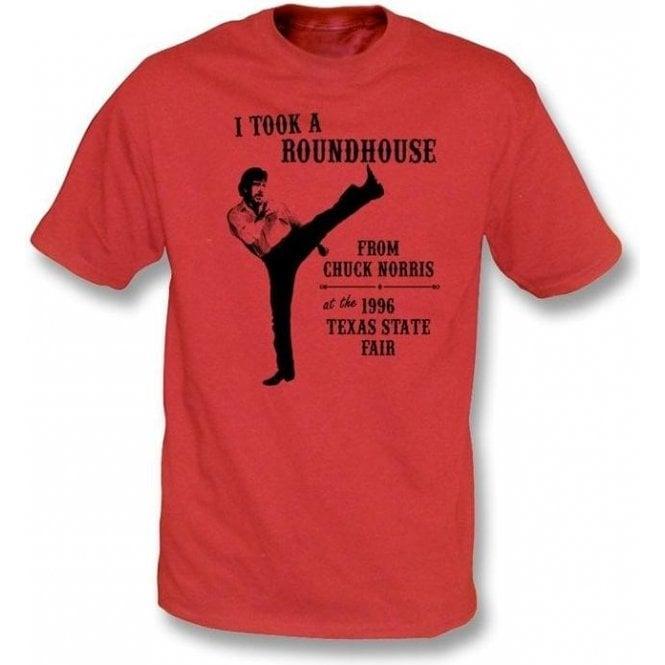 Chuck Norris Roundhouse Kick T-shirt