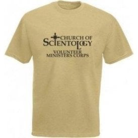 Church Of Scientology (As Worn By Mike Patton, Faith No More/Neverman) T-Shirt