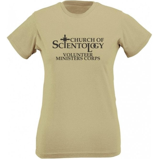 Church Of Scientology (As Worn By Mike Patton, Faith No More/Neverman) Womens Slim Fit T-Shirt