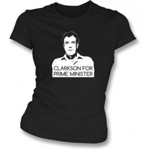 Clarkson for Prime Minister Girl's Slim-Fit T-shirt