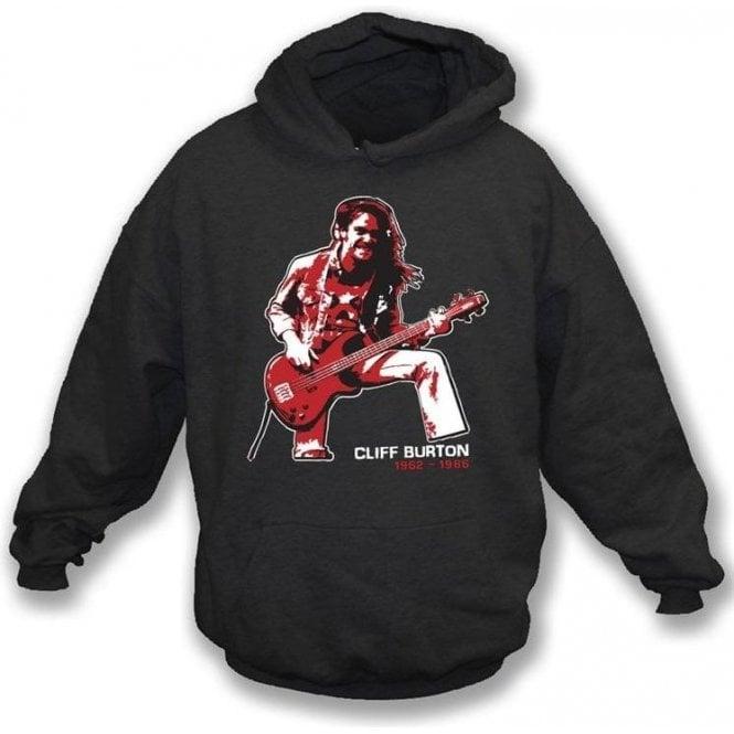 Cliff Burton (Metallica) Tribute Hooded Sweatshirt
