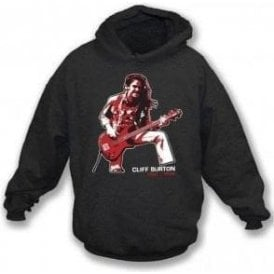 Cliff Burton (Metallica) Tribute Hooded Sweatshirt
