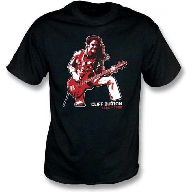 Cliff Burton (Metallica) Tribute T-shirt