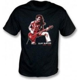 Cliff Burton (Metallica) Tribute T-shirt