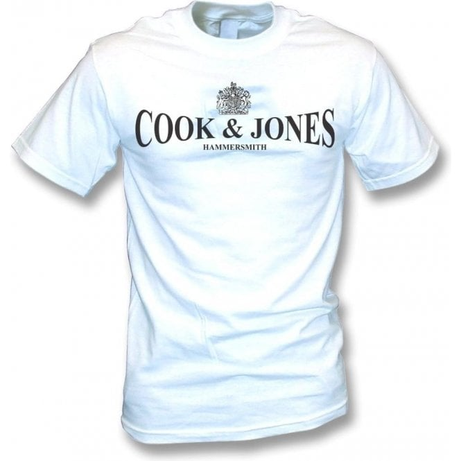 Cook & Jones - Hammersmith (As Worn By Steve Jones, Sex Pistols) T-Shirt