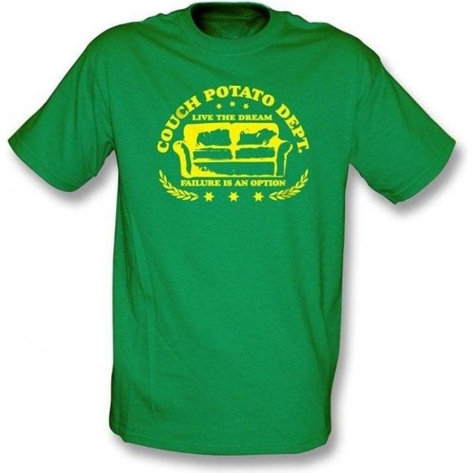 Couch Potato Dept - t-shirt