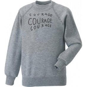 Courage Courage Courage (As Worn By Michael Stipe, R.E.M.) Sweatshirt