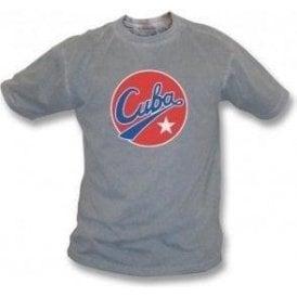 Cuba Logo Vintage Wash T-Shirt