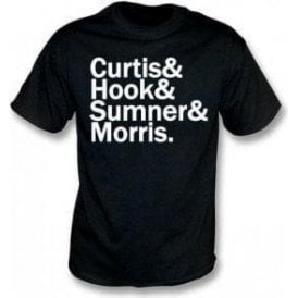 Curtis & Hook & Sumner & Morris (Joy Division) T-Shirt