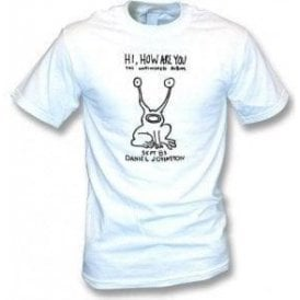 "Daniel Johnston ""Hi, How Are You"" (As Worn By Kurt Cobain, Nirvana) T-Shirt"