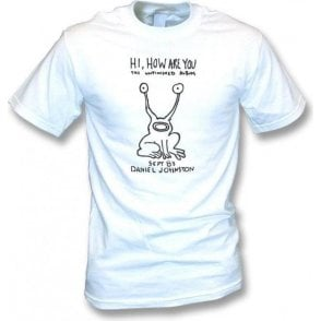 "Daniel Johnston ""Hi, How Are You"" (As Worn By Kurt Cobain, Nirvana) Vintage Wash T-Shirt"