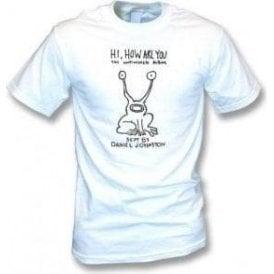 "Daniel Johnston ""Hi, How Are You"" (As Worn By Kurt Cobain, Nirvana) Vintage Wash T-Shirt"