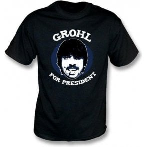 Dave Grohl For President T-Shirt