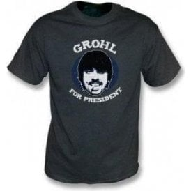 Dave Grohl For President Vintage Wash T-Shirt