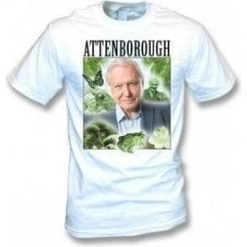 David Attenborough Collage Kids T-Shirt