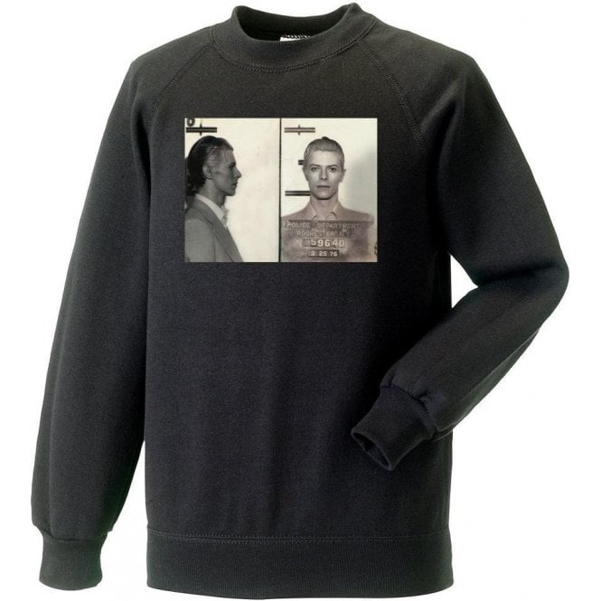 David Bowie Mugshot Sweatshirt