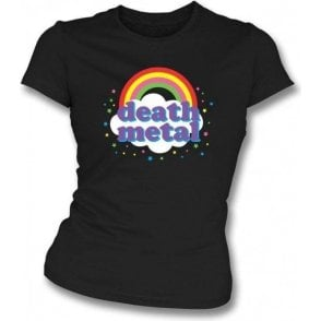 Death Metal Womens Slim Fit T-Shirt