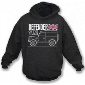 Defender Of The Realm (Land Rover) Kids Hooded Sweatshirt