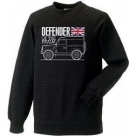 Defender Of The Realm (Land Rover) Kids Sweatshirt