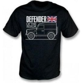 Defender Of The Realm (Land Rover) Kids T-Shirt