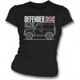 Defender Of The Realm (Land Rover) Womens Slim Fit T-Shirt