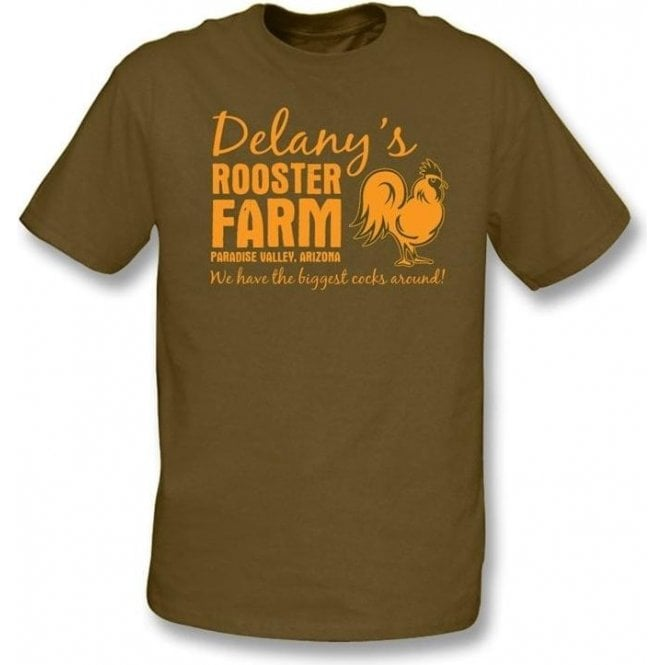Delany's Rooster Farm t-shirt