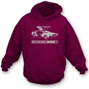 DeLorean DMC-12 (Back to the Future) Hooded Sweatshirt
