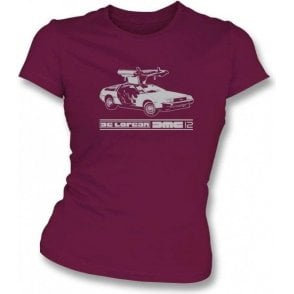 DeLorean DMC-12 (Back to the Future) Women's Slim Fit T-shirt